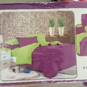 ผ้าปูที่นอน สีพื้น เกรดA 3.5ฟุต 3ชิ้น คละสี ชุดละ 145 บาท ส่ง 40ชุด