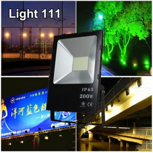 สปอร์ตไลท์ LED 200w (มอก.) แสงสีขาว ( รุ่นใหม่ )