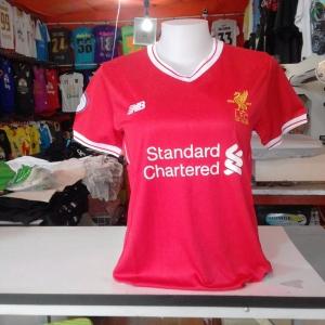 เสื้อบอลผู้หญิงทีมเหย้า Liverpool 2017 - 2018