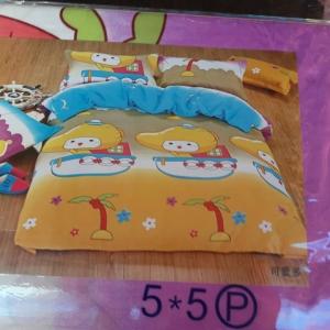 ผ้าปูที่นอน คละลาย การ์ตูน เกรดB 3.5ฟุต 3ชิ้น คละลาย ชุดละ 115 บาท ส่ง 40 ชุด