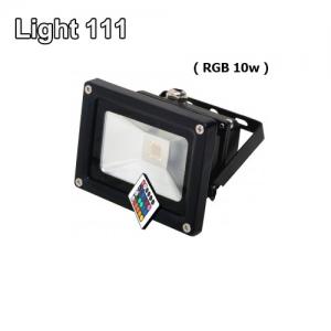 สปอร์ตไลท์ LED 10 w (RGB) เปลี่ยนสีได้