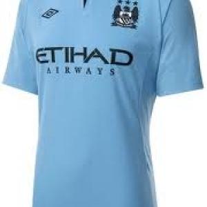 เสื้อทีมเหย้า Man City 2012 - 2013