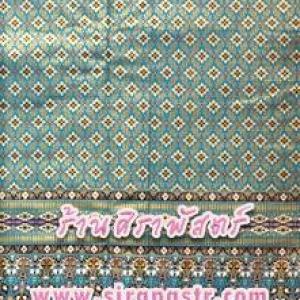 ผ้าพิมพ์ลายไทย P1-M สีฟ้า (ความยาว 3.5 เมตร) *รายละเอียดตามหน้าสินค้า