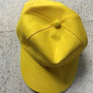 หมวกแก๊ปสีล้วนสำหรับปักโลโก้
