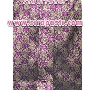 ผ้าถุงป้าย-หน้านาง A1-3B สีชมพู-ม่วง (เอวใส่ได้ถึง 31 นิ้ว) *แบบสำเร็จรูป-รายละเอียดตามหน้าสินค้า