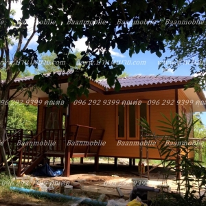 บ้านโมบาย 8*6 เมตร ราคา 430,000 บาท
