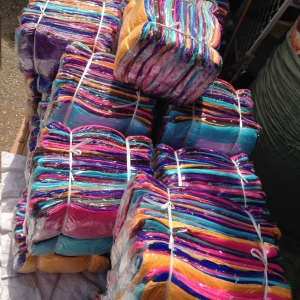 ผ้าเช็ดผม นาโน สีพื้น 12x24นิ้ว โหลละ 70 บาท ส่ง 120โหล