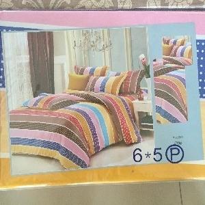 ผ้าปูที่นอน คละลาย เกรดB 5ฟุต 5ชิ้น คละลาย ชุดละ 135 บาท ส่ง 40ชุด