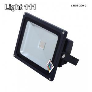 สปอร์ตไลท์ LED 20 w (RGB) เปลี่ยนสีได้