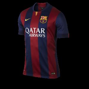 ชุดฟุตบอลบาร์เซโลน่า ทีมเหย้า ฤดูกาล 2014 - 2015
