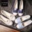 รองเท้าผ้าใบแฟชั่นผู้หญิง ขนาด 35-40 (พร้อมส่ง) thumbnail 8