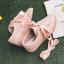 Ribbon Snaekers รองเท้าผ้าใบผูกโบว์   พร้อมส่ง thumbnail 7