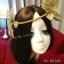 MAI06 มงกุฎผีเสื้อตัวใหญ่สีทอง (งาน handmade)**สินค้ามีจำกัดในเเต่ละล๊อต** thumbnail 4