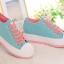 รองเท้าผ้าใบแฟชั่น สไตล์เกาหลี ขนาด 35-39 (พรีออเดอร์) thumbnail 2