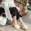 รองเท้าแฟชั่นเกาหลี สูง 5 ซม. [พร้อมส่ง] thumbnail 4
