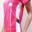 เสื้อกีฬา ad....s สีชมพู - ขาว thumbnail 2