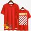 เสื้อยืด OFF-WHITE NEW16ss Sty.Luhan -ระบุสี/ไซต์- thumbnail 5