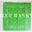 ผ้าพันคอBandannasไซส์บิ๊ก 28นิ้ว สีเขียว thumbnail 2