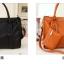**Pre-order** กระเป๋า axixi แท้ มี 6 สี สีนำ้เงิน ครีม เขียว ชมพูบานเย็น ส้ม ดำ thumbnail 6