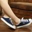 รองเท้าผ้าใบแฟชั่นผู้หญิงเปิดส้น สูง 2 ซม. (พรีออเดอร์) thumbnail 1