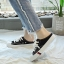 รองเท้าผ้าใบเปิดส้น [สินค้าพร้อมส่ง] thumbnail 3