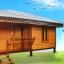 บ้านขนาด 4*6 เมตร ระเบียงภายในบ้าน ขนาด 1*3 เมตร (1 ห้องนอน 1 ห้องนั่งเล่น 1 ห้องน้ำ) thumbnail 2