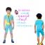 ชุดว่ายน้ำเด็กควบคุมอุณหภูมิ แขนสั้น ขาสั้น thumbnail 1