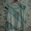 เสื้อสีขาว-ฟ้าลาย ผูกโบว์ที่คอเสื้อ thumbnail 1