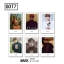 Polaroid Set GOT7 - MARK (6pc) thumbnail 1