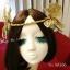 MAI06 มงกุฎผีเสื้อตัวใหญ่สีทอง (งาน handmade)**สินค้ามีจำกัดในเเต่ละล๊อต** thumbnail 6