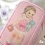 กระเป๋าใส่เครื่องสำอาง Paper Doll Mate make up pouch (พรีออเดอร์) thumbnail 1