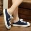 รองเท้าผ้าใบแฟชั่นผู้หญิงเปิดส้น สูง 2 ซม. (พรีออเดอร์) thumbnail 7