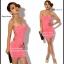Sexy Dress 9 สีชมพู thumbnail 1