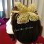 MAI06 มงกุฎผีเสื้อตัวใหญ่สีทอง (งาน handmade)**สินค้ามีจำกัดในเเต่ละล๊อต** thumbnail 7