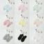 Pastel socks ถุงเท้าสีพาสเทลหวาน ๆ (3 คู่ 100 บาท) thumbnail 3