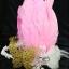 MAI26 มงกุฎขนนก ผี้เสื้อทองโบว์ (งาน handmade)**สินค้ามีจำกัด** thumbnail 3