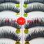 V-017 ขนตาเอ็นใส (ขายปลีก) เเพ็คละ 10 คู่ ขายยกเเพ็ค thumbnail 4
