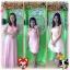 เช่าชุดราตรีสั้น ชุดราตรียาวสีชมพูหวาน thumbnail 1
