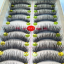 V-017 ขนตาเอ็นใส (ขายปลีก) เเพ็คละ 10 คู่ ขายยกเเพ็ค thumbnail 2