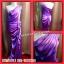ชุดราตรียาวสีม่วง งานผ้าซาติน สีสวยมาก thumbnail 1