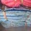 ผ้าม่าน หน้าต่าง ลายดอกไม้/ต้นสน ก 1.0 x ย 1.4 เมตร คู่ละ 95บาท ส่ง 100คู่ thumbnail 5