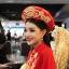 ชุดเวียดนามหญิงชั้นสูง ลายหงส์คู่มังกร (สีแดง) thumbnail 5
