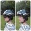 หมวกจักรยาน แบบพิเศษ มีแว่นกัน UV ติดบนหมวกด้วยแถบแม่เหล็ก thumbnail 4