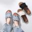 Korea style รองเท้าแตะน่ารักแบบเกาหลี | พร้อมส่ง thumbnail 1