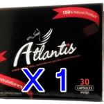 ซื้อ 1 แถม 1 / ซื้อ 1 กล่องใหญ่ ฟรี กล่องใหญ่อีก 1 กล่อง Atlantis แอตแลนติส ผลิตภัณฑ์เสริมอาหาร สำหรับผู้ชาย ยาเพิ่มสมรรถภาพ บำรุงร่างกาย อาหารเสริม ปลุกความเป็นชายในตัวคุณ ผลิตจาก สมุนไพร 100%