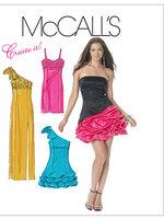 แพทเทิร์นตัดเดรสสตรี McCalls 6283 Size: 6-8-10-12