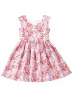 (ไฟล์ PDF) แพทเทิร์นตัดเดรส เด็กหญิง Summer Dress ไซส์ 104, 110, 116, 122, 128 cm