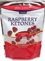 Chewable Raspberry Ketones 60 ชิ้น  เยลลี่ราสเบอร์รี่คีโตนสลายไขมัน ลดน้ำหนัก ยี่ห้อ Herbal Authority® จากอเมริกา