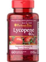 Lycopene 40 mg 60 ซอฟเจล ขาวอมชมพู 1 เม็ดเหมือนทานมะเขือเทศ10ลูก