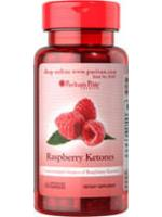 Raspberry Ketones 100 mg. 60 Capsules ช่วยเผาผลาญไขมันอย่างได้ผล ราสเบอรี่คีโตนจาก Puritan's Pride